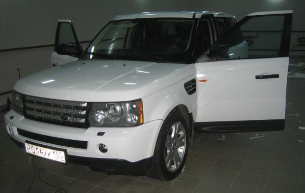 Range Rover Sport – белый глянец